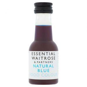 Χρώμα Ζαχαροπλαστικής Μπλε Waitrose Natural Blue Colour 38ml