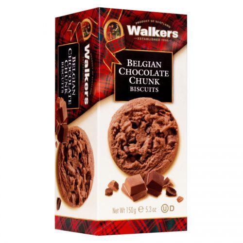 Μπισκότα Σοκολάτας Walkers Belgian Chocolate Chunk Biscuits 150g