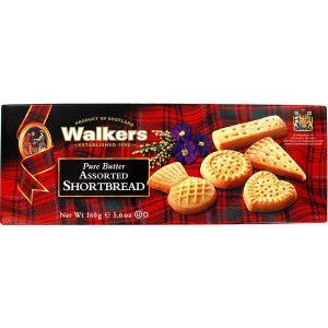 Μπισκότα Συλλογή Walkers Pure Butter Assorted Shortbread 160g