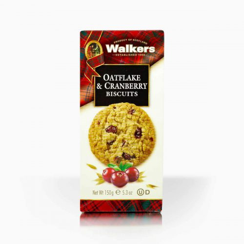 Walkers Oatflake Cranberry Biscuits 150g