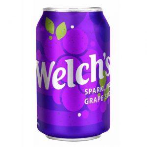Αναψυκτικό Σόδα Σταφύλι Welchs Sparkling Grape Soda 355ml