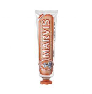 Οδοντόκρεμα Με Τζίντζερ Μέντα Και Ξυλιτόλη Marvis Ginger Mint Toothpaste With Xylitol 85ml