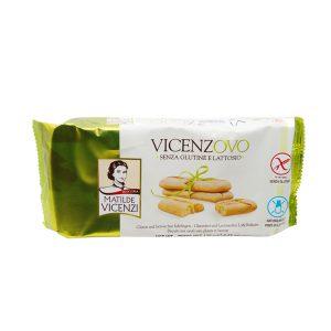 Σαβαγιάρ Χωρίς Γλουτένη Και Λακτόζη Matilde Vicenzi Vicenzovo Gluten And Lactose Free Ladyfingers 125g