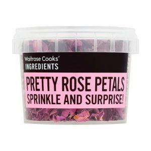 Πέταλα Τριαντάφυλλα Αποξηραμένα Waitrose Pretty Rose Petals 8g