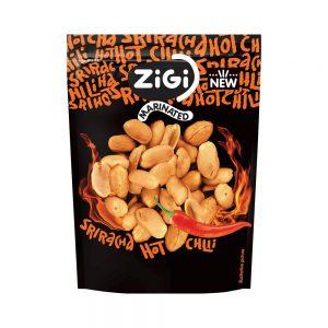 Σνακ Φυστίκι Zigi Marinated Peanuts Hot Chili Sriracha 70g