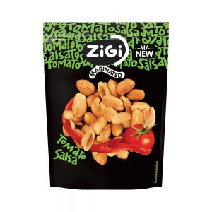 Σνακ Φυστίκι Zigi Marinated Peanuts Tomato Salsa 70g