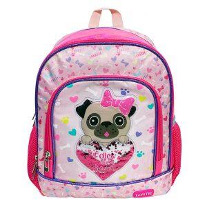 Σχολική Τσάντα Πλάτης Νηπιαγωγείου Puppy Follow Your Heart Backpack School Kindergarten 30x12x38cm