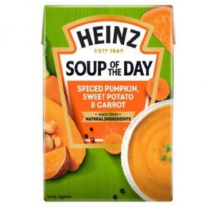 Σούπα Έτοιμη Heinz Soup of The Day Spiced Pumpkin Sweet Potato and Carrot 400g