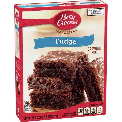 Μείγμα για Brownie Betty Crocker Favorites Fudge Brownie Mix 519g