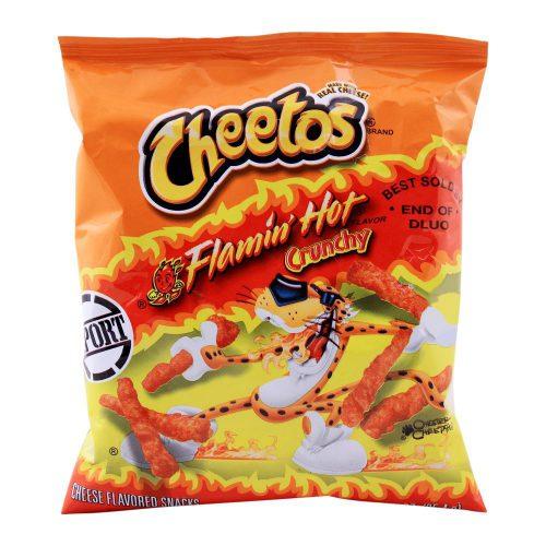 Γαριδάκια Πικάντικα Cheetos Flamin Hot Crunchy 35,4g