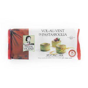 Μπισκότα Βολοβάν Σφολιάτας Matilde Vicenzi Vol-Au-Vent Di Pastasfoglia 100g
