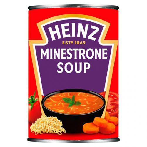 Σούπα Έτοιμη Heinz Minestrone Soup 400g