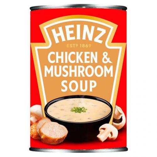Σούπα Έτοιμη Heinz Chicken Mushroom Soup 400g