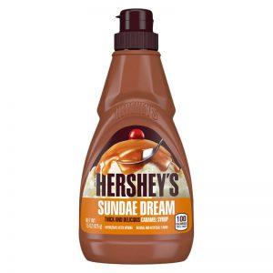 Σιρόπι Επικάλυψης Παχύρευστο Καραμέλα Hersheys Sundae Dream Thick And Delicious Caramel Syrup 425g