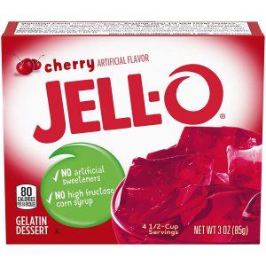 Ζελέ Κεράσι Επιδόρπιο Jello Cherry Gelatin Dessert 85g