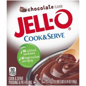 Κρέμα Σοκολάτα Jello Cook and Serve Chocolate Pudding and Pie Filling 96g