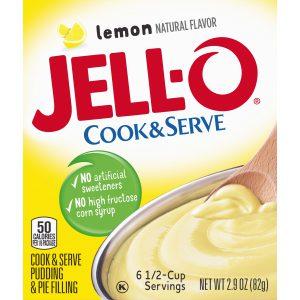 Κρέμα Λεμόνι Jello Cook and Serve Lemon Pudding and Pie Filling 82g
