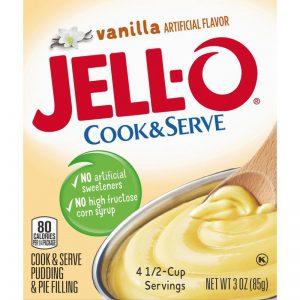 Κρέμα Βανίλια Jello Cook and Serve Vanilla Pudding and Pie Filling 85g