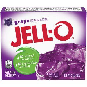 Ζελέ Σταφύλι Επιδόρπιο Jello Grape Gelatin Dessert 85g