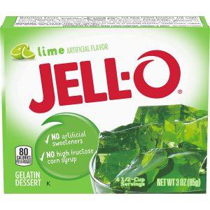 Ζελέ Λάιμ Επιδόρπιο Jello Lime Gelatin Dessert 85g