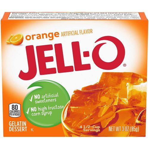 Ζελέ Πορτοκάλι Επιδόρπιο Jello Orange Gelatin Dessert 85g