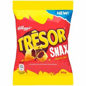 Σνακ Δημητριακών Kelloggs Tresor Snax Choco Nut 30g