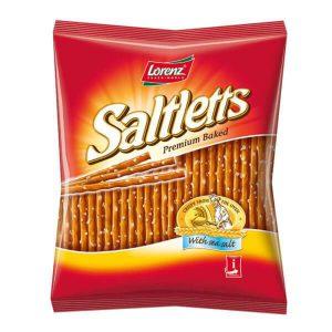 Αλμυρά Στικς Σνακ Lorenz Saltletts Premium Baked with Sea Salt 150g
