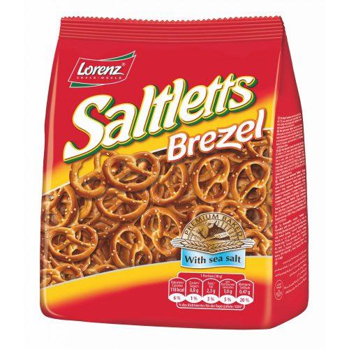 Αλμυρά Σνακ Πρέτσελ Lorenz Saltletts Pretzel Premium Baked with Sea Salt 150g