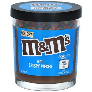 Άλειμμα Κρέμας Σοκολάτας Με Ξηρούς Καρπούς Και Τραγανές Πολύχρωμες Μπάλες M&M's Nutty Chocolate Cream With Colorful Crispies Spread 200g