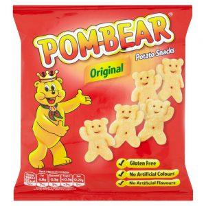 Σνακ Πατάτας Παιδικό Gluten Free Pom Bear Original Potato Snacks 19g
