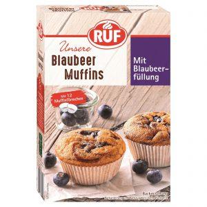 Μείγμα για Μάφιν με Μύρτιλο Ruf Blaubeer Muffin Mix 325g