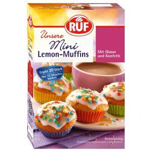 Μείγμα για Μάφιν Λεμόνι Ruf Mini Lemon Muffins 350g