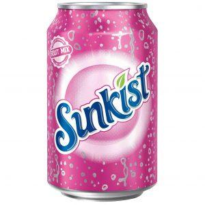 Ανθρακούχο Αναψυκτικό Sunkist Fruit Mix 330ml