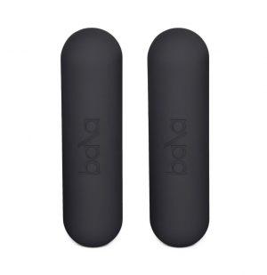 Αλτήρες Γυμναστικής Ανθρακί Bala Bars Charcoal Grey 2×1,3kg