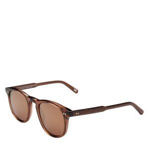 Γυαλιά Ηλίου Καφέ Chimi 001 Round Frame Coco