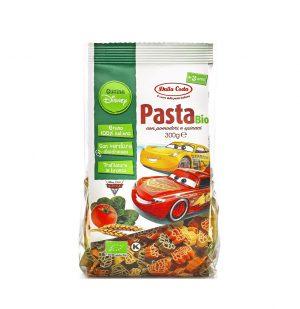Παιδικά Ζυμαρικά Βιολογικά Dalla Costa Disney Kitchen Pasta Bio Cars 300g