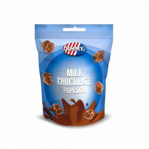 Πόπκορν με Σοκολάτα Γάλακτος Jimmys Milk Chocolate Popcorn 120g