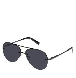 Γυαλιά Ηλίου Μαύρα Le Specs Aviator Black