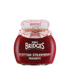 Σάλτσα Φράουλα Mrs Bridges Scottish Strawberry Preserve 340g