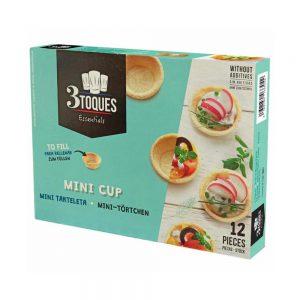 Καναπεδάκια Βάση Σφολιάτας Φωλιά 3 Toques Mini Cups 12 Pieces