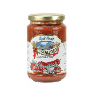 Σάλτσα Ντομάτας Καυτερή Tarall Oro Sugo Arrabbiata 350g