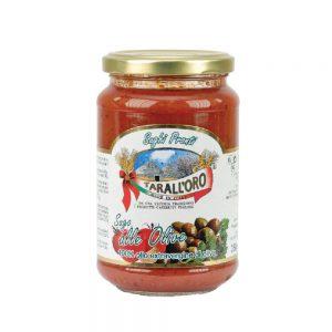 Σάλτσα Ντομάτας με Ελιά Tarall Oro Sugo with Olives 350g
