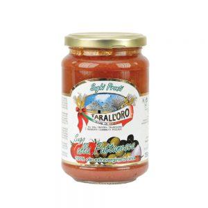 Σάλτσα Ντομάτας με Κάπαρη Tarall Oro Sugo alla Puttanesca 350g