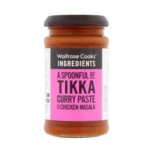 Σάλτσα Τίκα Κάρυ Waitrose Tikka Curry Paste 200g