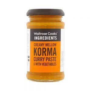 Σάλτσα Κόρμα Κάρυ Waitrose Korma Curry Paste with Vegetables 200g