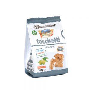Σνακ με Ελιά Vegan Tarall Oro Tocchetti with Olives 100g