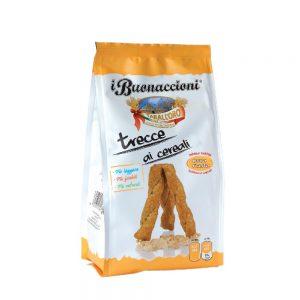 Σνακ Δημητριακών Πολύσπορο Tarall Oro Trecce with Cereals 300g