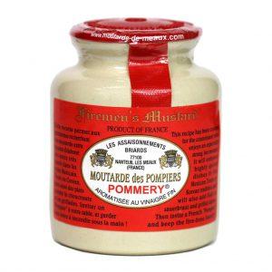 Μουστάρδα με Καυτερή Πιπεριά Pommery Moutarde des Pompiers 250g