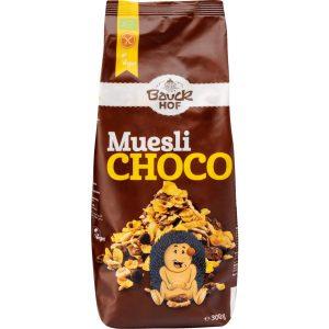 Μούσλι με Σοκολάτα Bio Gluten Free Bauckhof Muesli Choco 300g