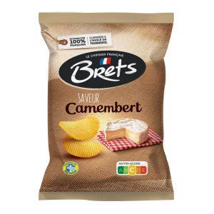 Πατατάκια με Τυρί Καμαμπέρ Brets Saveur Camembert Potato Chips 125g